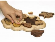"""Puzzle """"Frunza de stejar"""""""