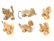Set 6 animalute cu roti