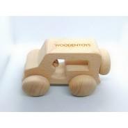 Masinuta lemn personalizata