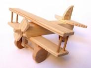 Avion din lemn natur