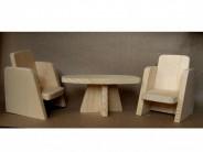 Set scaune + masa living
