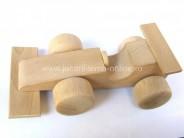 Masinuta din lemn  Formula 1 - natur