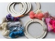 Set gherghef circular 8 cm diametru