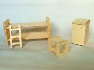 Set mobilier papusa - camera copii WJ
