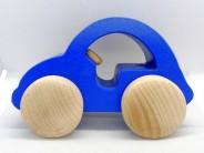 Masinuta din lemn albastru