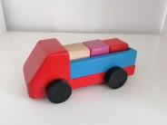 Masinuta camion cu 3 cubulete
