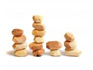 Joc din lemn Blocuri Echilibru natur