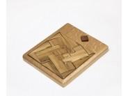 Puzzle din lemn: patratul imposibil