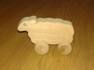 Animaluta roti miel lemn