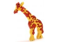 Puzzle lemn Fauna - girafa